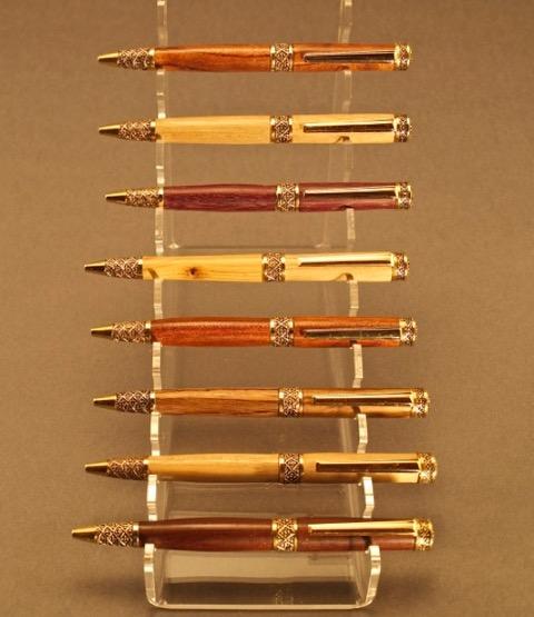 #1315 Sculptured Pens