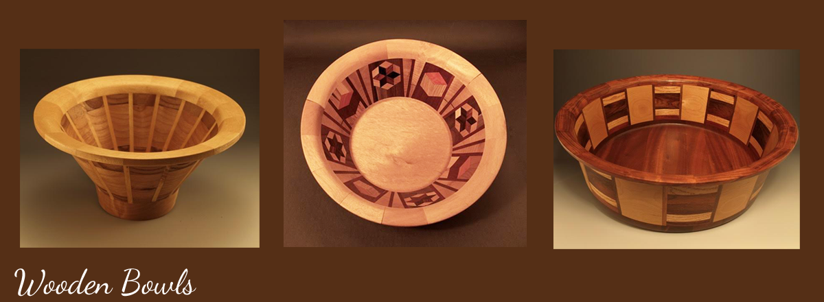 Hand Crafted Wooden Bowls