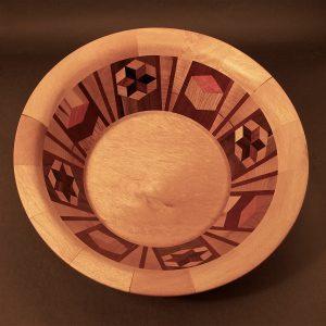 # 6039 Segmented Bowl 14%22x5%22