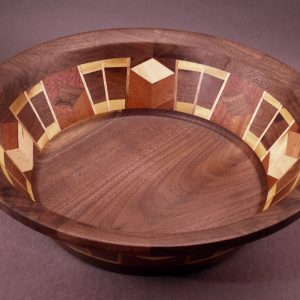 Segmented Bowl #6069 14 x 5