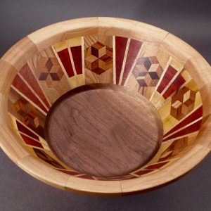 Segmented Bowl #5071 14 x 6 $400