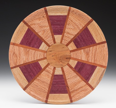 #1401 Segmented Lazy Susan Large