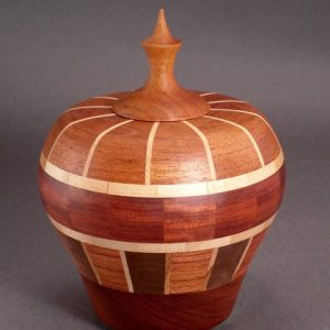 #4127 Lidded Urn Small