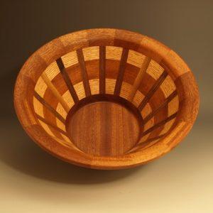 #6046 Segmented Bowl 12_x6_