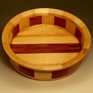 12x4 Rim: Maple, Bottom: Maple, Black Walnut, Middle: Maple, Black Walnut