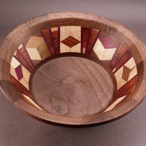 Segmented Bowl #6070 14 x 5 $350