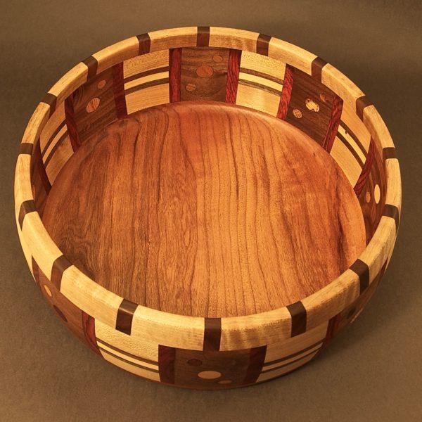 Segmented Bowl #6073 12 x 5 $250